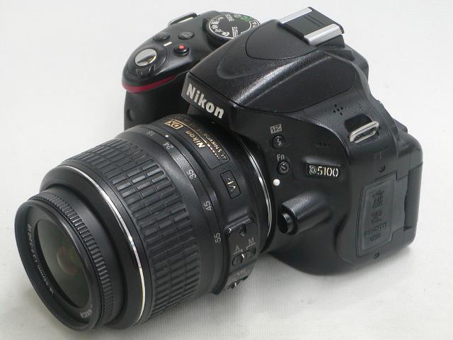 【実用】 D5100  AF-S 18-55 VR