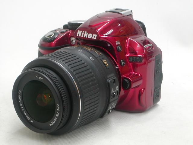 【美品】 D3100 (Red) AF-S 18-55 VR