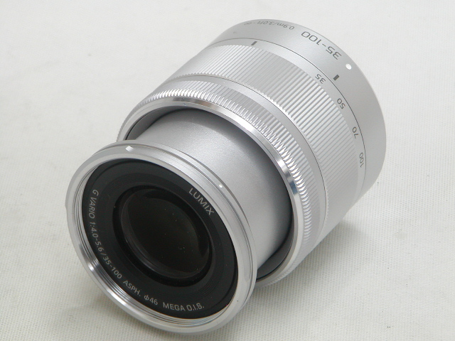 G VARIO 35-100mm 1:4.0-5.6 ASPH. MEGA O.I.S.(Silver)