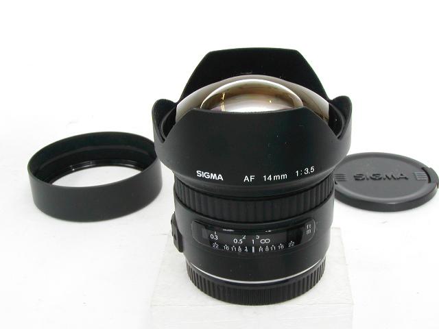 【難あり】AF 14mm 1:3.5 For Canon EF