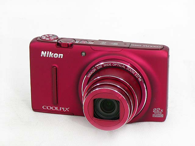 COOLPIX S9500 (Red)