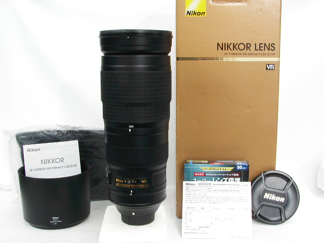 【極上】 AF-S NIKKOR 200-500mm f/5.6E ED VR