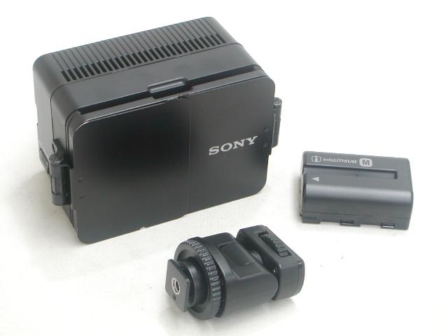 バッテリービデオライト HVL-LE1  w/ NP-FM500H