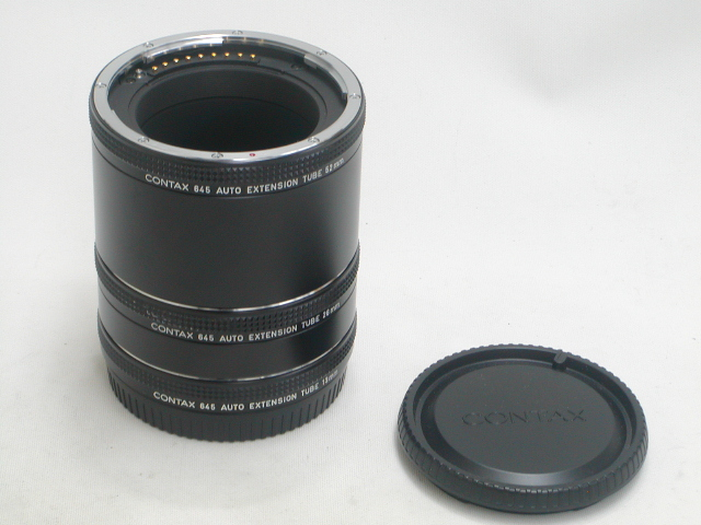 645 AUTO EXTENSION TUBE 13mm・26mm・52mm Set