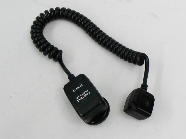 off camera shoe cord 2 オフカメラシューコード2