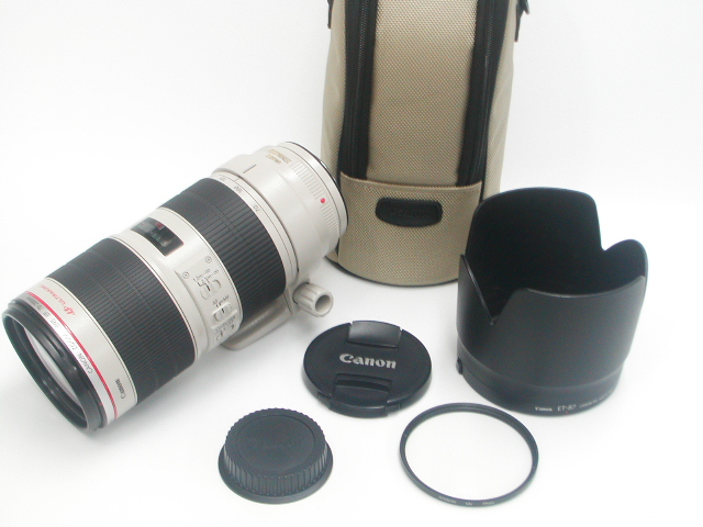 【美品】 EF 70-200mm 1:2.8 L IS II USM  w/ UV