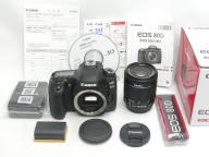 Canon 【美品】 EOS 80D  EF-S 18-55 IS STM 【保付】