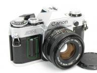 Canon 【ジャンク】AE-1 NewFD 50mm 1:1.8