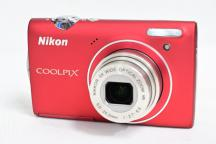 Nikon COOLPIX  S5100  (Red)
